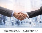 investor businessman in suit... | Shutterstock . vector #568128427