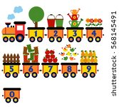 Train With Number Of Garden...