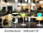 selection of cocktails | Shutterstock . vector #568166719