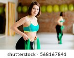 Charming Young Woman Workout...