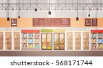 big shop super market shopping... | Shutterstock .eps vector #568171744