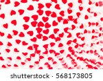 valentine's day  decorative... | Shutterstock . vector #568173805