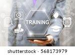 training education e learning... | Shutterstock . vector #568173979