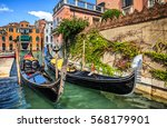 Venice Boats In Venice Canals