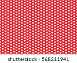 heart pattern. valentines day... | Shutterstock .eps vector #568211941