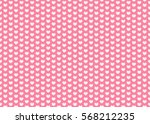 heart pattern. valentines day... | Shutterstock .eps vector #568212235