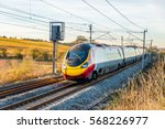 day view of uk railroad in... | Shutterstock . vector #568226977
