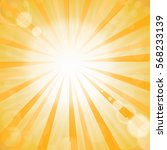 vector abstract sun background. ...