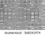 bright abstract mosaic green... | Shutterstock . vector #568241974