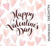 modern calligraphy for...   Shutterstock .eps vector #568244794
