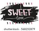 creative unique hand drawn... | Shutterstock .eps vector #568252879