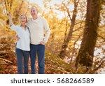 digital composite of loving... | Shutterstock . vector #568266589