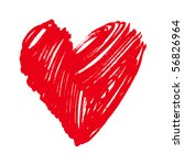 heart | Shutterstock .eps vector #56826964