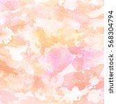 abstract watercolor splash with ... | Shutterstock . vector #568304794