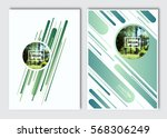 flyer layout template. vector... | Shutterstock .eps vector #568306249