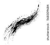 grunge hand drawn splash paint... | Shutterstock .eps vector #568309684