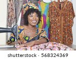 beautiful african american...   Shutterstock . vector #568324369