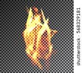 fire transparent translucent...   Shutterstock .eps vector #568329181