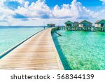 Beautiful Water Villas In...