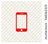 pictogram smartphone icon.