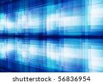 blue white overlapping... | Shutterstock . vector #56836954