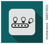 idea factory vector icon | Shutterstock .eps vector #568372021