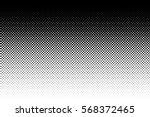 vertical gradient halftone dots ... | Shutterstock .eps vector #568372465