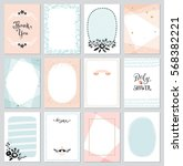 contemporary universal cards... | Shutterstock .eps vector #568382221