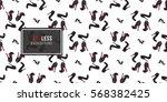 vector fashion sketch. hand... | Shutterstock .eps vector #568382425