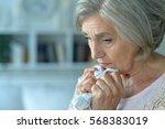 Upset Mature Woman Close Up