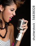 Beautiful Singing Rockstar Girl