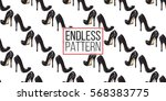 vector fashion sketch. hand...   Shutterstock .eps vector #568383775