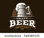 craft beer logo  vector...