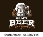 Craft Beer Logo  Vector...