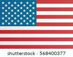 short usa flag. | Shutterstock . vector #568400377