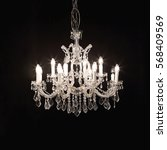 Classic Crystal Chandelier...