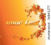 leaves of maple   Shutterstock .eps vector #56841277