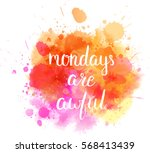 watercolor imitation splash... | Shutterstock .eps vector #568413439
