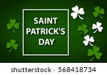 card for day of saint patrick | Shutterstock .eps vector #568418734