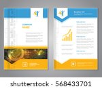 vector modern brochure with