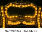 a sign board of an amusement... | Shutterstock . vector #56843731