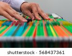 abstract background colorful... | Shutterstock . vector #568437361