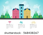 vector flat illustration of... | Shutterstock .eps vector #568438267