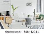 multifunctional bright flat... | Shutterstock . vector #568442311