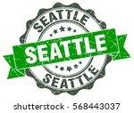 seattle   Shutterstock .eps vector #568443037