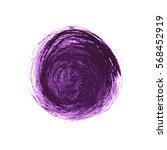vector brush strokes circles of ... | Shutterstock .eps vector #568452919