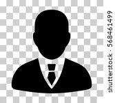 manager icon. vector... | Shutterstock .eps vector #568461499