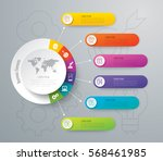 infographics design vector and... | Shutterstock .eps vector #568461985