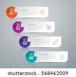 infographics design vector and... | Shutterstock .eps vector #568462009
