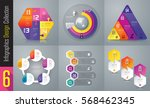 infographics design vector and... | Shutterstock .eps vector #568462345